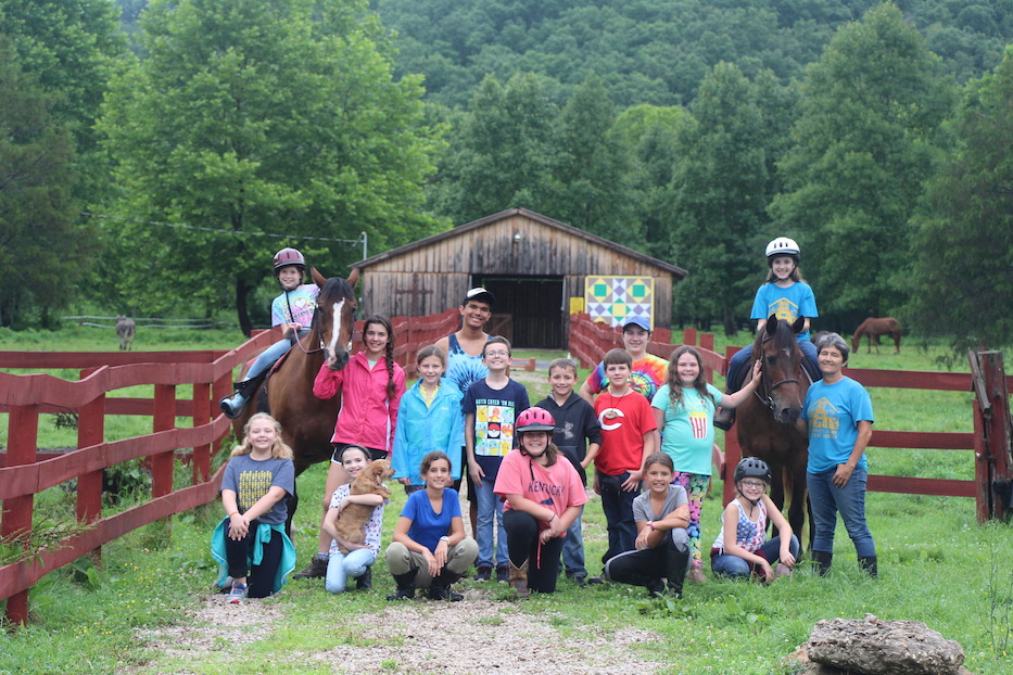 Elementary Horse Camp