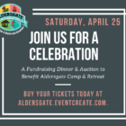 Join us for a Special Fundraising Event for Aldersgate Camp