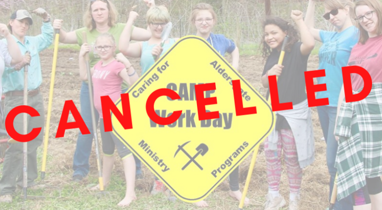 CAMP Workday 2020 is Canceled