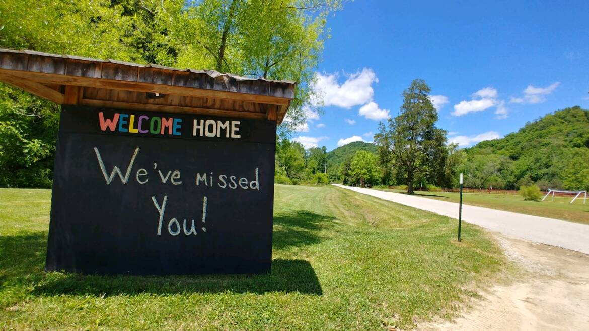 Welcome Home! We've Missed You.